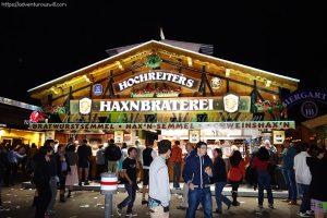 Food stall at Oktoberfest