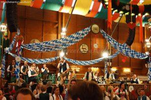 Brass band at Schützen-Festzelt