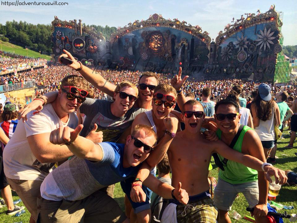 Tomorrowland 2014 with the Dutch friends